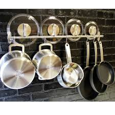 kitchen island hanging pot racks hanging pot and pan rack ebay