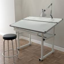 Leonar Drafting Table Charming Leonar Drafting Table L78 In Simple Home Design Style