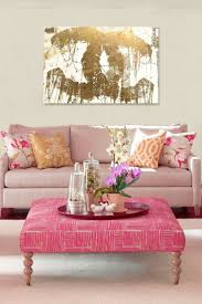 pink gold color palette room ideas glam interiors home decor