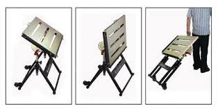 Folding Welding Table Buildpro Portable Welding Table 30w 20d Cap 350 Ts3020 Zoro Com