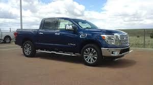 titan nissan 2017 arctic blue 2017 nissan titan sl 4wd crew cab pickup