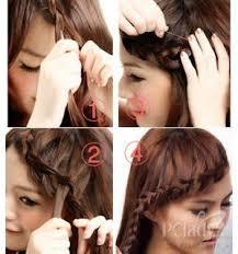 tutorial kepang rambut frozen kristina s 10 jenis kepang ala korea