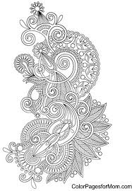 13 images paisley coloring pages easy paisley flower coloring