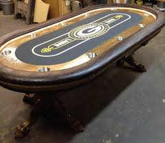 Poker Table Pedestal Sports Theme Custom Poker Table Nfl Kansas City Chiefs