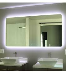 backlit bathroom vanity mirror backlit bathroom vanity mirror kathyknaus com