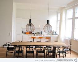 kitchen diner lighting ideas 15 different kitchen table design ideas home design lover