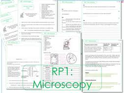 rp1 microscopes cells tasks and worksheets by