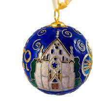 custom loretto chapel cloisonne ornament