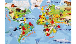 Animal World Map by Madzzle Worldopedia Animal Kingdom Madrat Games