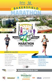 Csub Map Bakersfield Marathon Bakersfield Track Club