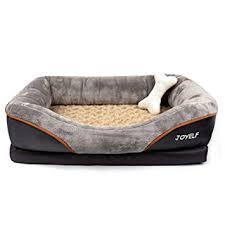 amazon com joyelf memory foam dog bed small orthopedic dog bed