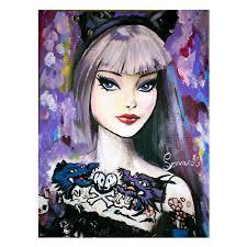 barbie paintings livin u0027 plastic dolls