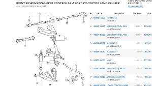 lexus gx470 parts catalog oem toyota parts catalog diagram ih8mud forum