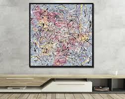 large wall art framed livingroom wall decor original