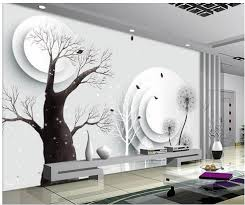 popular abstract wall mural buy cheap abstract wall mural lots 3d wall murals wallpaper abstract tree 3d tv backdrop modern living room wallpapers home decoration