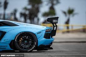 Lamborghini Aventador J Blue - blue shark attack lb works u0027 aventador speedhunters