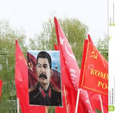 Joseph Stalin Flag Victory Day Symbol World War 2 Joseph Stalin Editorial Stock