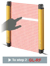 Laser Safety Curtains Step 1 Select The Light Curtain Type Gl R Series Keyence America