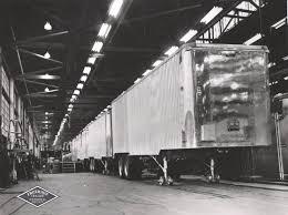semi truck manufacturers 44 historical photos of detroit u0027s fruehauf trailer company the