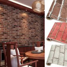 Dining Room Wall Quotes by Diy Europe Imitation Brick Style Pvc Adhesive Waterproof Wall