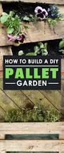 how to build a diy pallet garden epic gardening