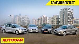 Hyundai Cars In Rapid City by New Honda City Vs Hyundai Verna Vs Skoda Rapid Vs Vw Vento