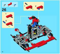 lego monster truck instructions 42005 technic