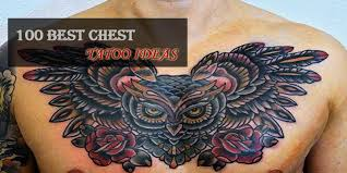 100 of the best chest tattoos for