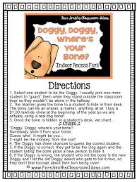 printable instructions classroom fern smith s free doggy doggy where s your bone game instructions