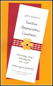 Dinner Invitation Card Wording Staff Appreciation Luncheon Invitation Wording