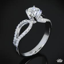 real diamond engagement rings infinity diamond engagement ring 290