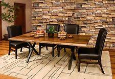 Living Edge Dining Table Live Edge Furniture Ebay