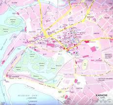 map of karachi karachi road map karachi mappery