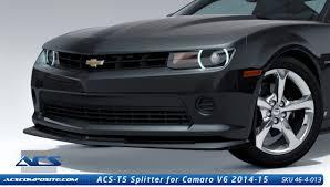 2014 camaro ls acs t5 2014 camaro splitter v6 pn 46 4 013