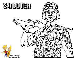 memorial day army coloring soldier tell other kids you found
