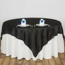tablecloth for 6 foot table 72x72 square satin table overlays wedding party linens for 6 feet