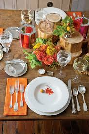 Thanksgiving Table Setting Ideas by Natural Thanksgiving Table Decoration Ideas Southern Living