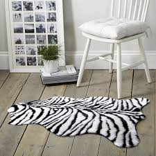 long shag rug faux zebra rug zebra shaggy shag rug super soft long hair faux fur