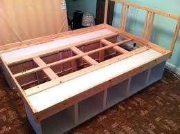 storage beds ikea hackers and beds on pinterest ikea hacks beds away wit hwords
