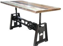 adjustable table base pedestal awesome gas rise or manual adjustable table base garelick eez in