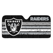Raiders American Flag Amazon Com Windshield Sun Shades Auto Accessories Sports