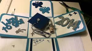 graduation box graduation explosion box