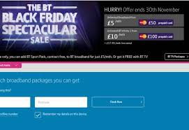 black friday tv reviews bt spectacular november sale with exclusive packages product