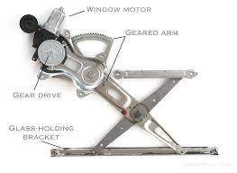 window regulator window motor how it works problems symptoms