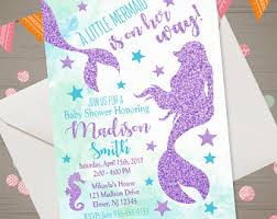 mermaid baby shower invitations mermaid baby shower invitations mermaid baby shower