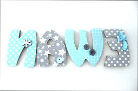 lettres décoratives chambre bébé lettre decorative pour chambre bebe lettres pour chambre bebe