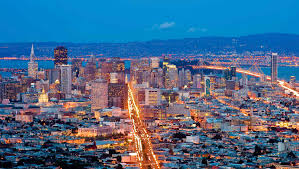 San Francisco City Map by Union Square Hotels Kimpton Sir Francis Drake Hotel