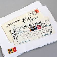 Telegram Wedding Invitation Personalised Message Telegram By Imperial Telegrams