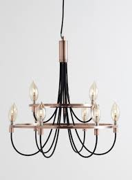 copper frederica candelabra ceiling light bhs for the home
