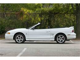 1998 ford mustang cobra for sale 1998 ford mustang cobra for sale classiccars com cc 1030099